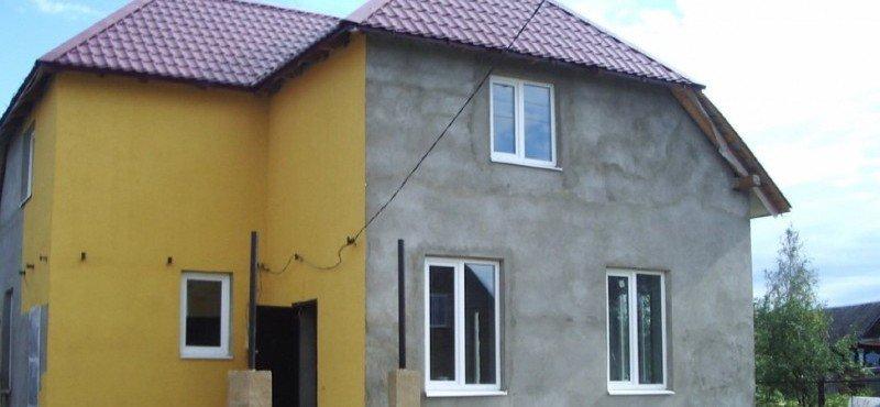 Отделка фасада дома в пензе