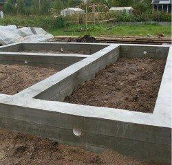 Строительство фундамента дома цена в Химках