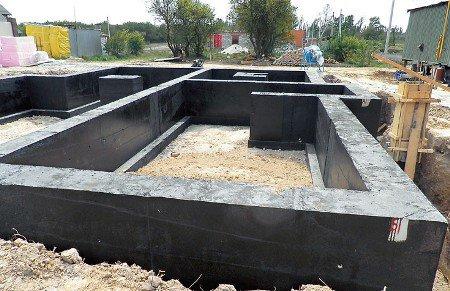 Стоимость фундамента под дом 6 на 8 в Красногорске